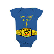 John Cena The Champ Is Here Onesie Creeper