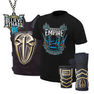 Roman Reigns Spare No One, Spear Everyone Halloween Youth T-Shirt Package