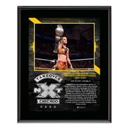 Shayna Baszler NXT TakeOver Chicago 10 x 13 Plaque