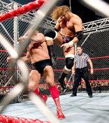 Triple H vs Ric Flair (Cage) 2