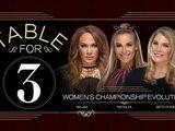 Women's Championship Evolution