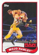2018 WWE Heritage Wrestling Cards (Topps) Mojo Rawley 51
