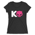 Kevin Owens & Natalya Team Pawz Logo Women's Tri-Blend T-Shirt