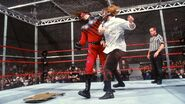 Raw Kane vs Mankind Hell In A Cell 1998