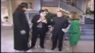 The Undertaker and Paul Bearer On Regis and Kathy-Lee Show 1991