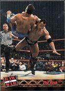 2001 WWF RAW Is War (Fleer) The Rock 39