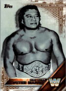 2016 WWE (Topps) Then, Now, Forever High Chief Peter Maivia 171