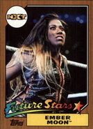 2017 WWE Heritage Wrestling Cards (Topps) Ember Moon 3