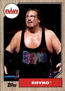 2017 WWE Heritage Wrestling Cards (Topps) Rhyno 64