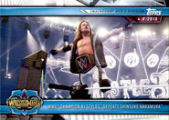 2019 WWE Road to WrestleMania Trading Cards (Topps) AJ Styles 96
