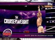 2019 WWE Road to WrestleMania Trading Cards (Topps) Kalisto 41