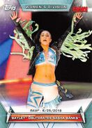 2019 WWE Women's Division (Topps) Bayley 76
