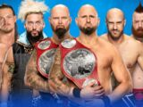 WrestleMania 33 Triple Threat Tag Team Match