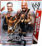 WWE Battle Packs 16 Alberto Del Rio & Big Show
