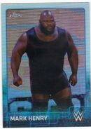 2015 Chrome WWE Wrestling Cards (Topps) Mark Henry 46