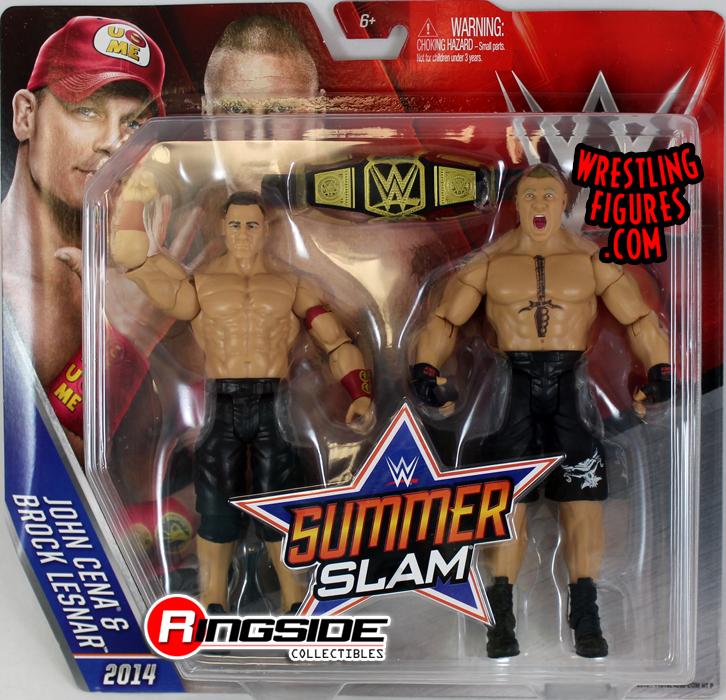 WWE John Cena Wrestlemania Battle Pack Action Figure