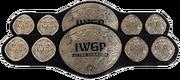 IWGP Junior Heavyweight Tag Team Championship Belt