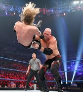 Kane chokeslam edge