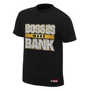 Sasha Banks Bosses Make Bank Authentic T-Shirt