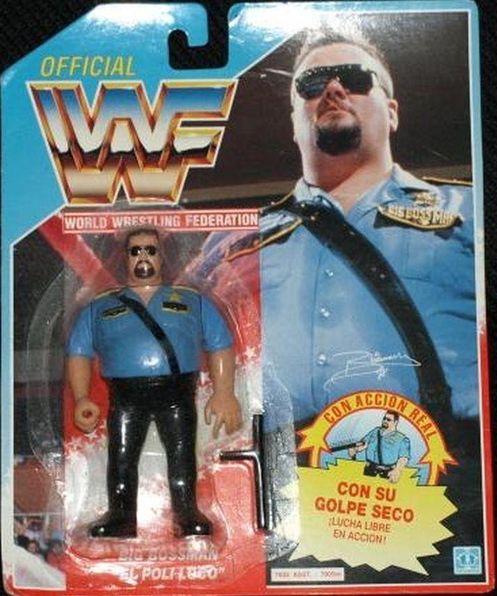 Big Bossman Wwf Hasbro 1990 Pro Wrestling Fandom