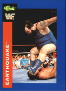 1991 WWF Classic Superstars Cards Earthquake 145