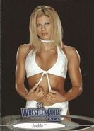2003 WWE WrestleMania XIX (Fleer) Jackie 64