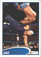 2012 WWE (Topps) Hunico 22