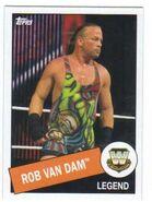 2015 WWE Heritage Wrestling Cards (Topps) Rob Van Dam 24