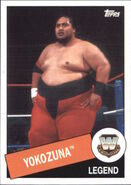 2015 WWE Heritage Wrestling Cards (Topps) Yokozuna 50