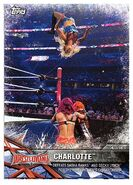 2017 WWE Road to WrestleMania Trading Cards (Topps) Charlotte 59
