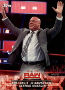 2018 WWE Road to Wrestlemania Trading Cards (Topps) Kurt Angle 29