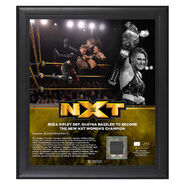 Rhea Ripley NXT Women's Champion 15 x 17 Limited Edition Plaque