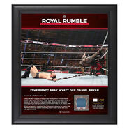 The Fiend Bray Wyatt Royal Rumble 2020 15x17 Limited Edition Plaque