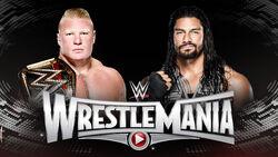 WM 31 Lesnar v Reigns