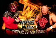 WrestleMania 15 Kane vs Triple H
