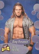 2001 WWF The Ultimate Diva Collection (Fleer) Chris Jericho 63