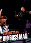 2001 WWF WrestleMania (Fleer) Big Boss Man 20