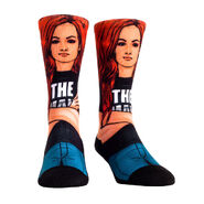 Becky Lynch The Man Rock' Em Socks