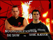 Big Show vs. Shane McMahon Judgment Day 2000