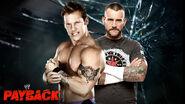 Payback 2013 Jericho v Punk