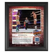 The Miz SummerSlam 2018 15 x 17 Framed Plaque w Ring Canvas