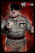 WWE2K14 Sgt Slaughter CORRECT CL