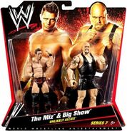 WWE Battle Packs 7 The Miz & Big Show