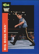 1991 WWF Classic Superstars Cards Big Boss Man 5
