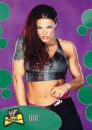 2001 WWF The Ultimate Diva Collection (Fleer) Lita 5