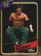 2008 WWE Heritage III Chrome Trading Cards Matt Hardy 53