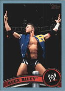 2011 WWE (Topps) Alex Riley 14