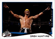 2014 WWE (Topps) Drew McIntyre 66