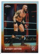 2015 Chrome WWE Wrestling Cards (Topps) Randy Orton 54