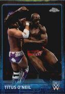2015 Chrome WWE Wrestling Cards (Topps) Titus O'Neil 70